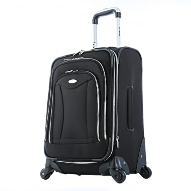 Amazon.com | Olympia Luggage Luxe 21 Inch Expandable Carry-On ...