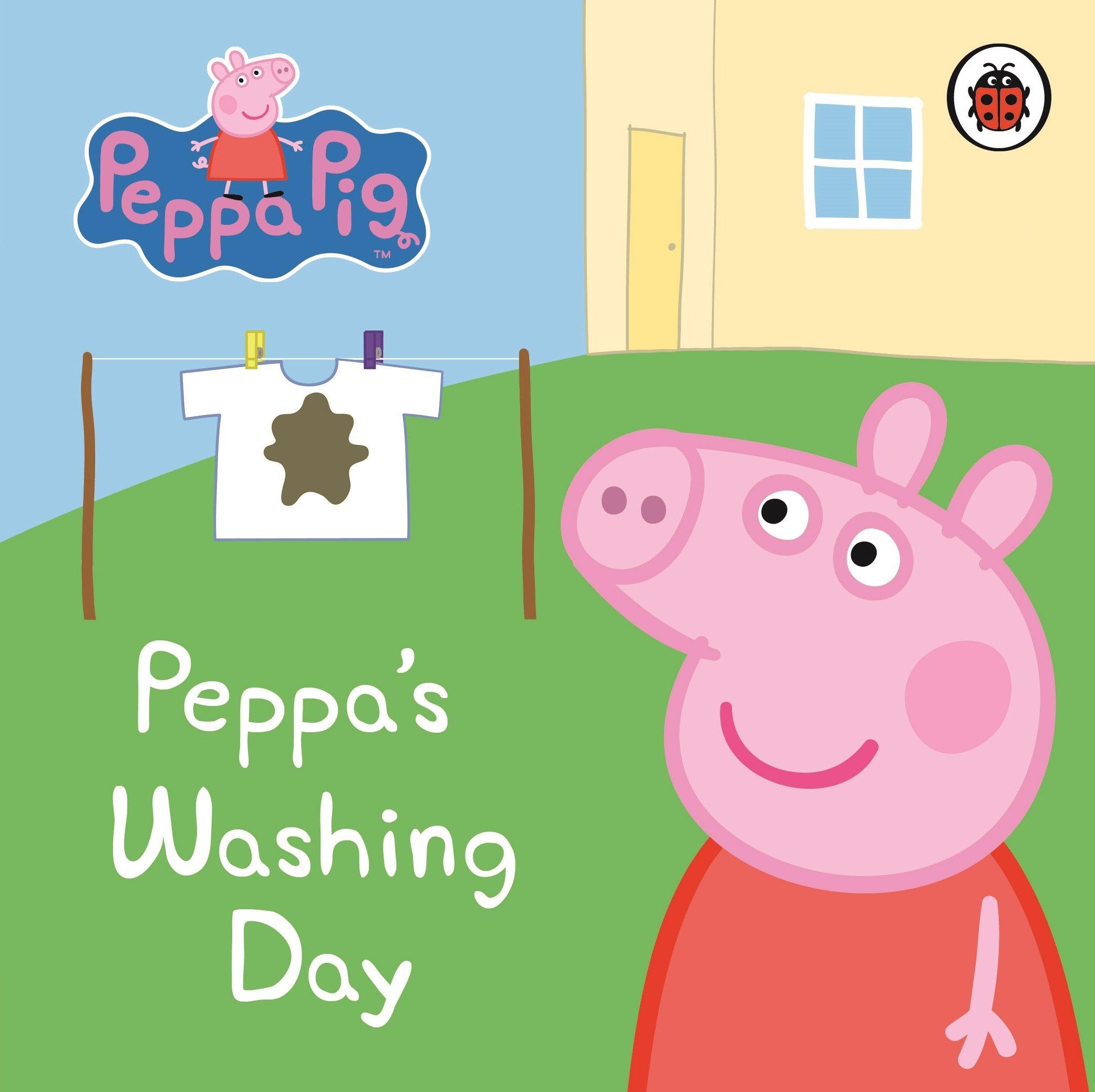 Peppa Pig: Peppa's Washing Day: My First Storybook: Peppa