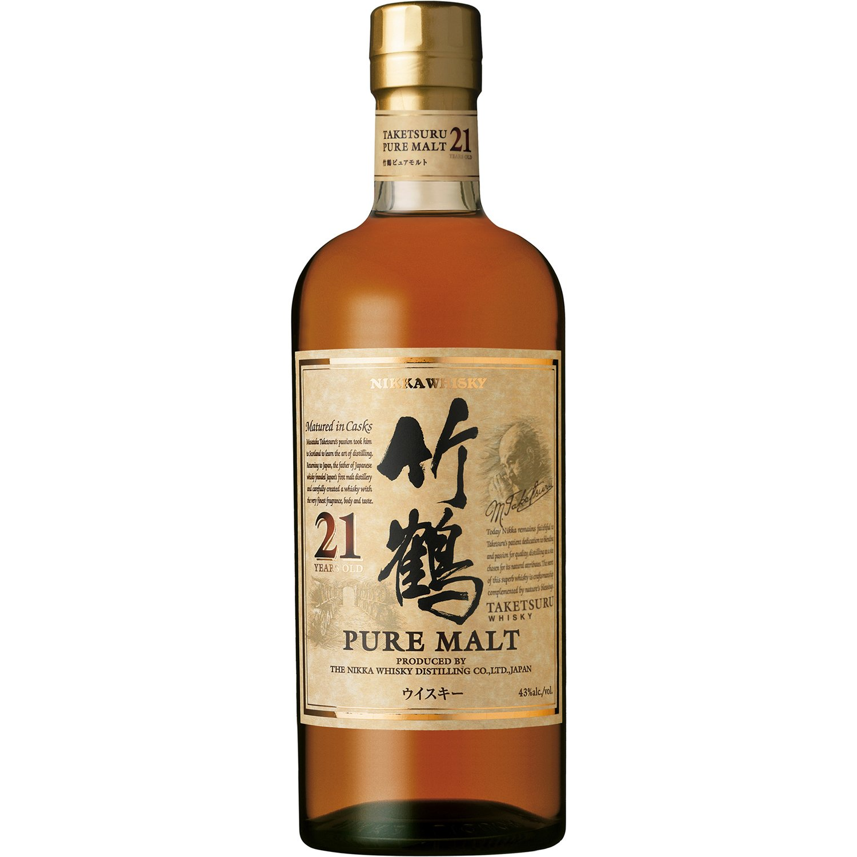 竹鶴21年ピュアモルト [ ウイスキー 日本 700ml ] B001TZ3MYQ  700ml