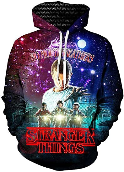 Gratefully Dyed Stranger Things Hoodie Premium All Over Print Graphics