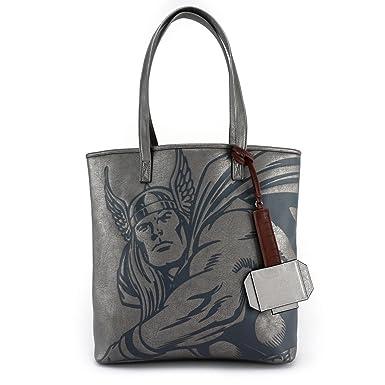 Amazon.com  Loungefly x Marvel Thor Tote Bag 053e0de48bb24