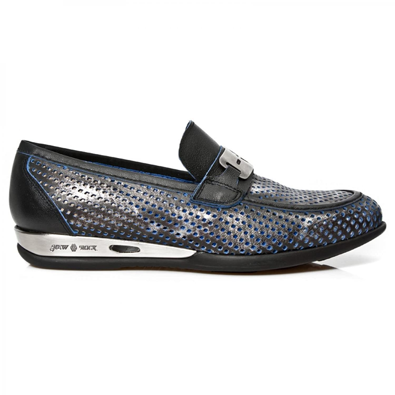 New Rock Boots M.HY025 C1 Elegant Urban Herren Sneeker Steel Colored