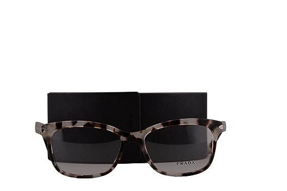 3017b0eaf81 Prada PR10RV Eyeglasses 55-17-140 Spotted Opal Brown w Demo Clear Lens  UAO1O1 VPR10R VPR 10R PR 10RV  Amazon.co.uk  Clothing