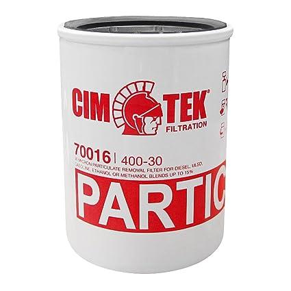Cim-Tek 70016 Centurion Gilbarco Diesel Filter 400-30, 30 Micron