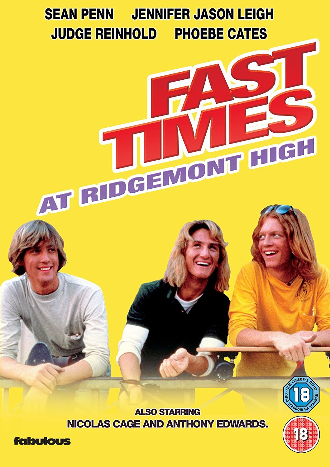 Fast Times At Ridgemont High [DVD] [Reino Unido]
