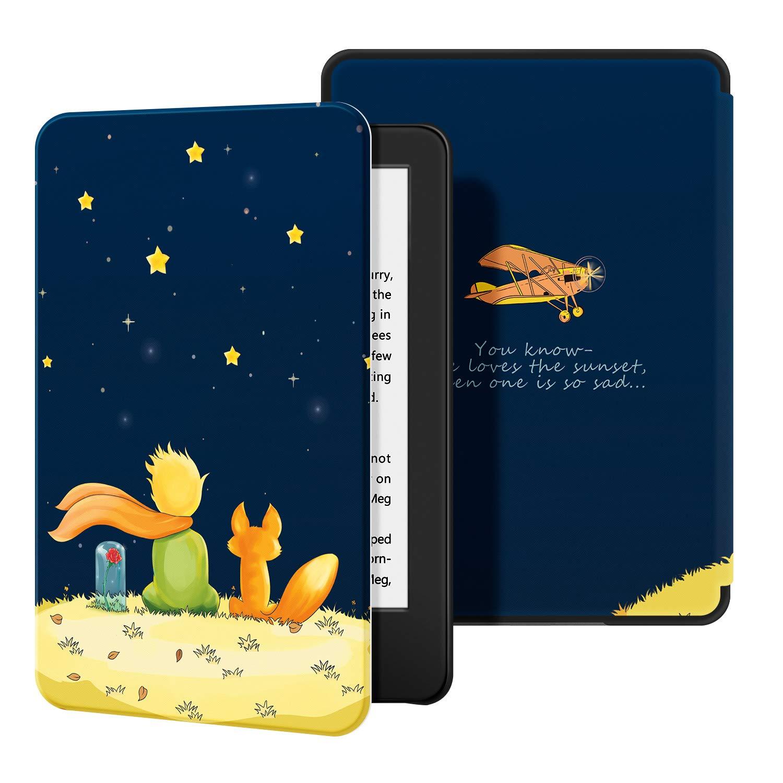 Estuche Ayotu para Kindle Completamente - Funda de Cuero de PU Compatible con el Kindle 2019 de ,Forest no encajar/á con Kindle Paperwhite o Kindle Oasis 10/ª generaci/ón, versi/ón 2019