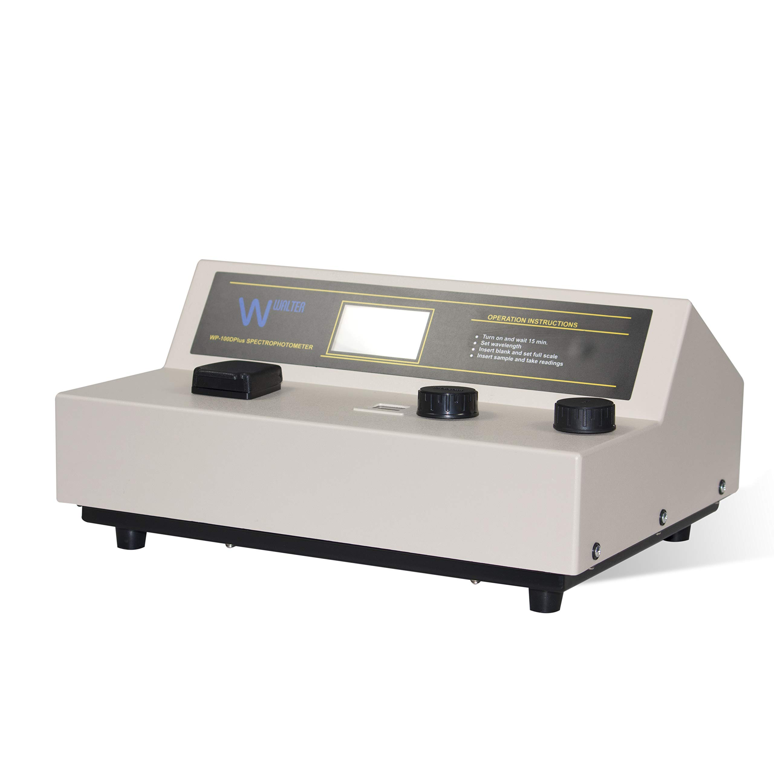 Vision Scientific VLS001 Spectrophotometer, Absorbance and Transmittance Reading, 400-1000nm Wavelength, Spectral Bandwidth 15nm,Wavelength accurracy ± 2nm by Vision Scientific
