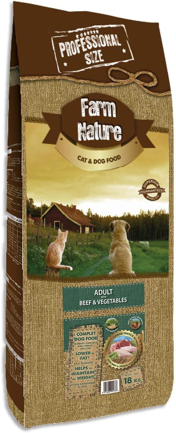 Farm Nature Pienso seco para Perros. FN Buey con Verduras - Todas ...