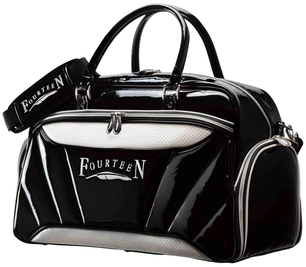 FOURTEEN(フォーティーン) ボストンバッグ BB0209 ボストンバッグ メンズ ブラック×ホワイト カラー:ブラック×ホワイト   B07BSYYTWM