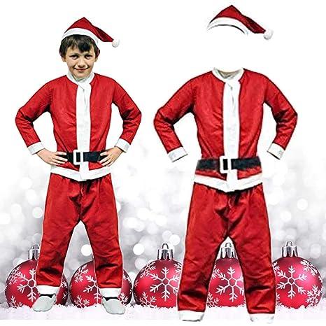 thehomegallery - Disfraz de Papá Noel para niños de 3 a 5 ...