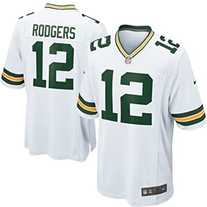2910d84f Amazon.com : Nike Green Bay Packers Aaron Rodgers Jersey - White ...