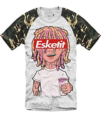 4dd73efe9ad E1SYNDICATE T Shirt Lil Pump ESKETIT PEEP Uzi Yachty XAN Supreme Xanax   Amazon.co.uk  Clothing