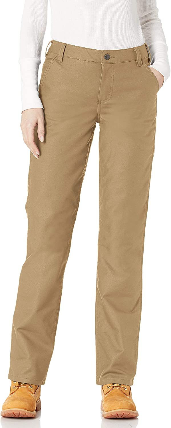 Carhartt Women's Original Fit Rugged Professional Pant: Clothing
