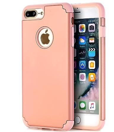 meet 63338 34588 CaseHQ iPhone 7 plus Case,iPhone 8 plus Case,slim Dual Layer Silicone  Rubber PC Protective Case Fit for iPhone 7 plus,iPhone 8 plus(5.5 screen)  Hybrid ...