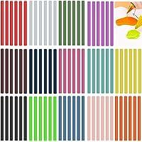 Kleur Lijm Sticks voor Kids Gekleurde Hot Melt Lijm Sticks Lijm Sticks voor Mini Lijm Gun 84 Pack Gekleurde Mini Lijm…