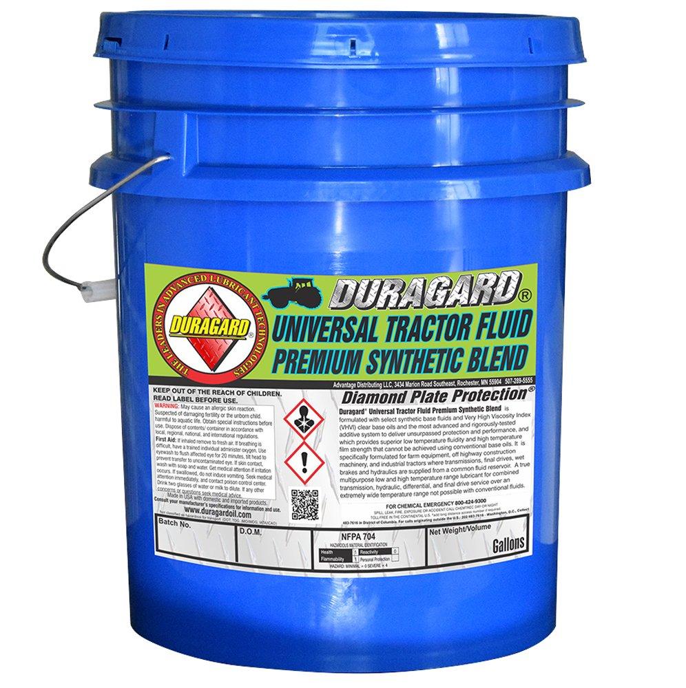 Duragard Synthetic Blend Universal Hydraulic Tractor Fluid - 5 Gallon Pail Duragard Oil