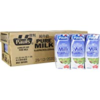 PAULS Pure UHT Milk, 250ml (Pack of 24)