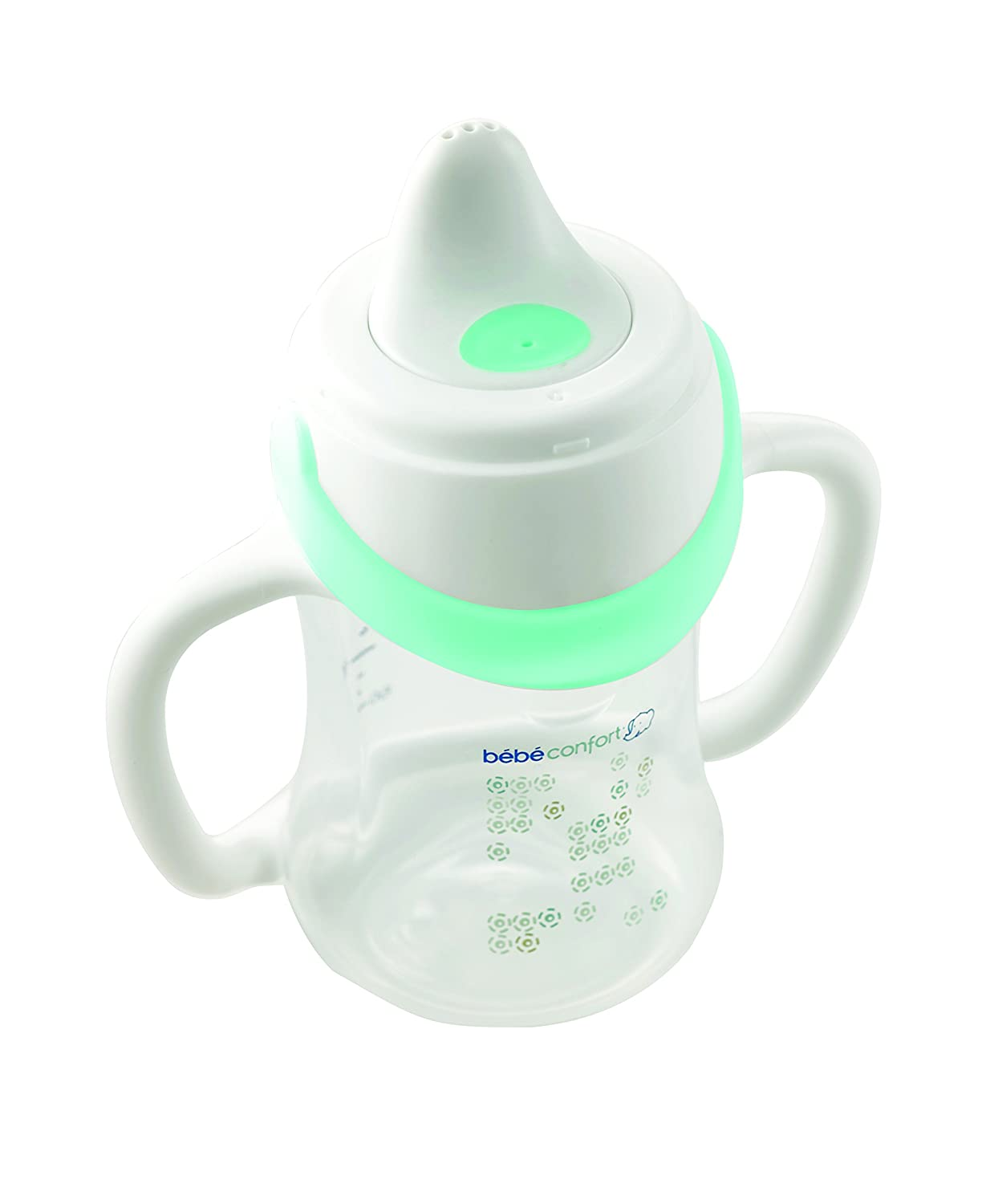 B/éb/é Confort Tasse Biberon Evolutive Maternity PP Easy Clip Blanc 150 ml