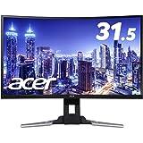 Acer ゲーミングモニター XZ321QUbmijpphzx 31.5インチ/VA/非光沢/2560x1440/WQHD/300cd/1ms/144Hz/HDR
