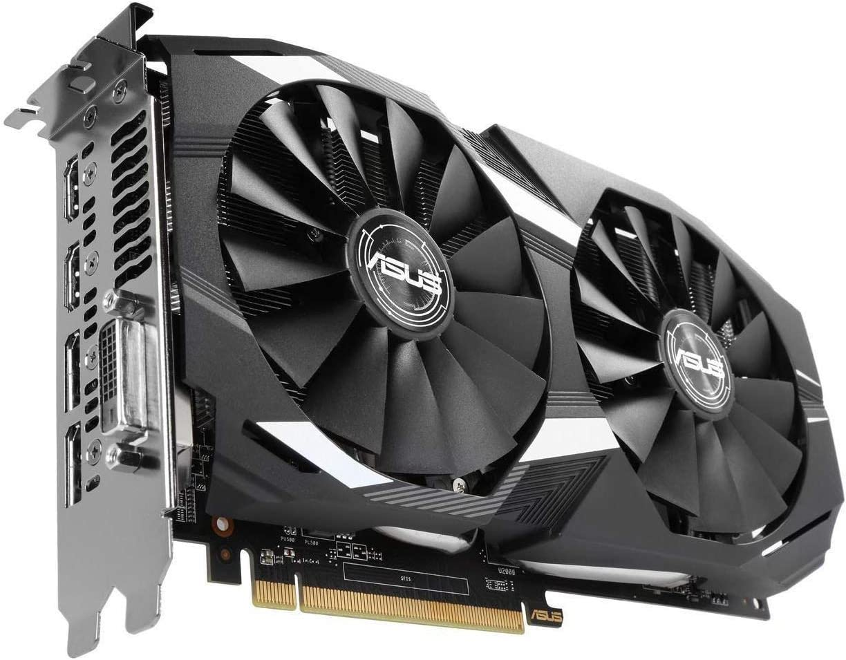ASUS Radeon RX 580 8GB Dual-Fan OC Edition GDDR5 DP HDMI DVI VR Ready AMD Graphics Card (DUAL-RX580-O8G)