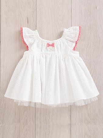 1361e42c4e826 Kid s zoo (キッズズー) ベビー チュール重ね チュニック ワンピ 赤ちゃん ベビー服 子供服 ワンピース 女の子