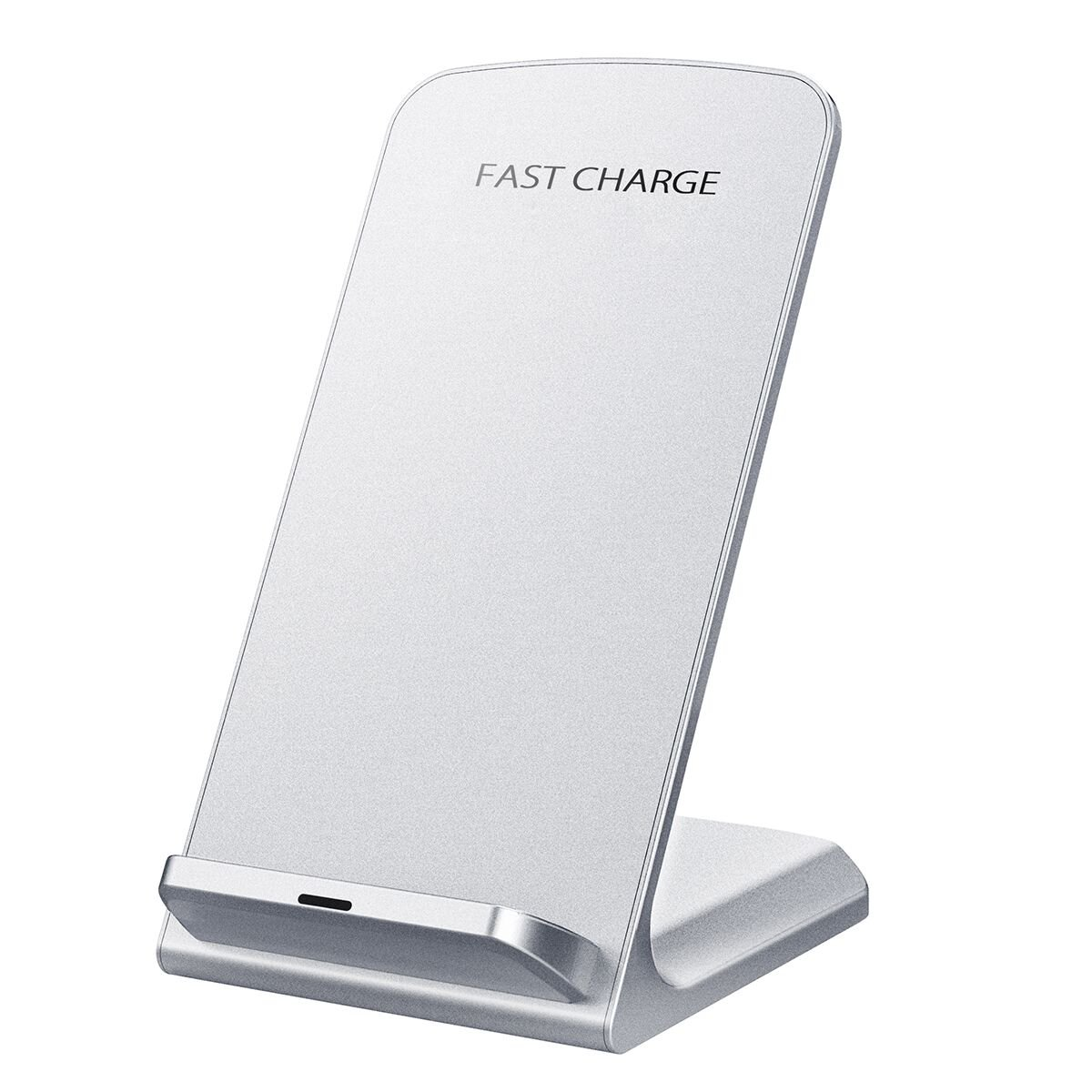 Wireless Charger, Seneo Upgraded Qi Certified 10W Fast Wireless Charger Charging Pad Stand (No AC Adapter) for Galaxy S9/S9+ Note 8/5 S8/S8+ S7/S7 Edge S6 Edge+, Standard Qi Charger for iPhoneX/8/8+ by Seneo