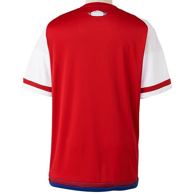 Adidas para Hombre de Manga Corta Camiseta de Paraguay Replica Jugador-del: Amazon.es: Deportes y aire libre