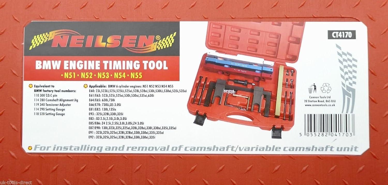 BMW Timing Tool Kit N51 N52 N53 N54 N55 6 Cylindre 2.3 2.5 2.8 3.0 moteurs 3.5i