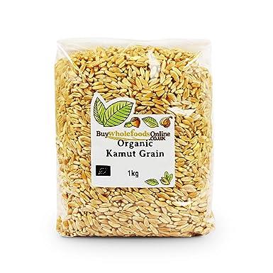 organic kamut grain 1kg amazon co uk grocery