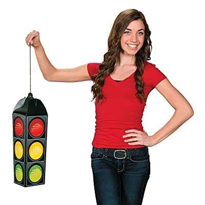 Traffic Light Hanging Decor (includes hanger) Party Decorations: Toys & Games