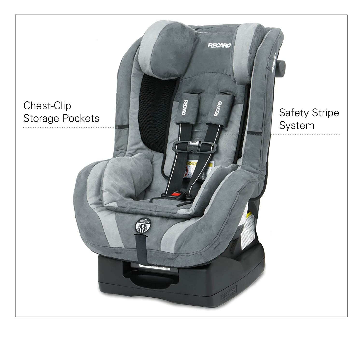 Amazon Com Recaro Proride Convertible Car Seat Blaze Baby