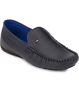 Shoe Smith Woodland Men Blue Loafers Shoe available at Amazon for Rs.699