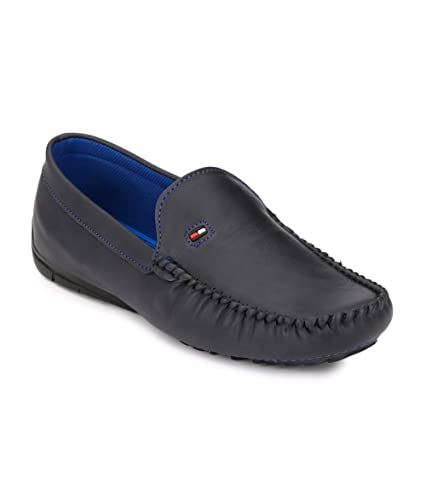 5ff545935990b Shoe Smith Woodland Men Blue Loafers Shoe  Buy Online at Low Prices in  India - Amazon.in