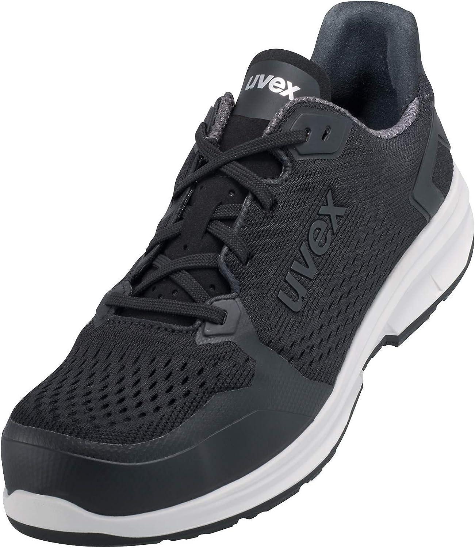 uvex 1 Sport Calzado de Trabajo S1 SRC ESD | Zapatos de Seguridad con Punta Ligera y Sin Metales - para Mujeres y Hombres