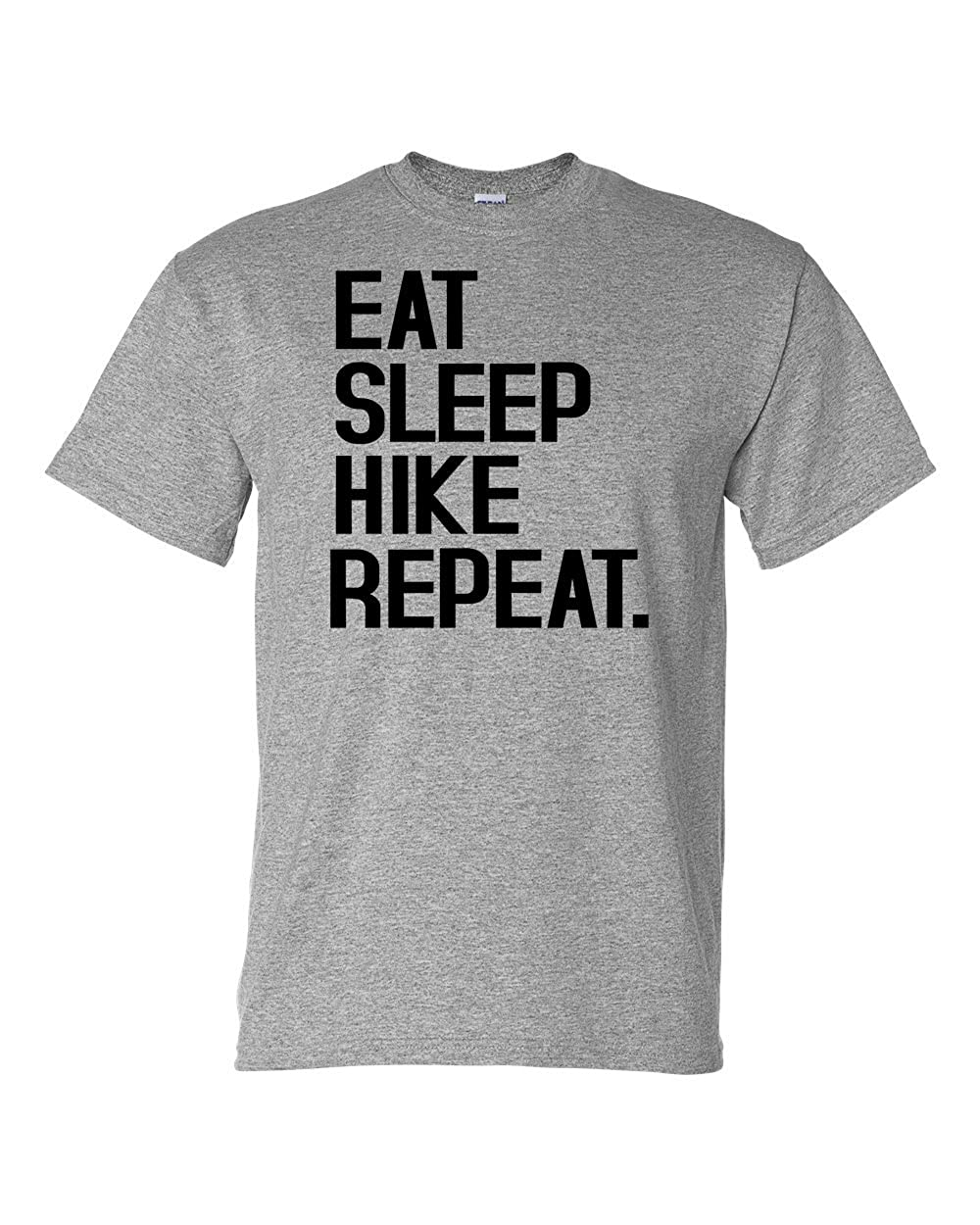 Custom Apparel R Us Eat Sleep Hike Repeat Mens Short Sleeve