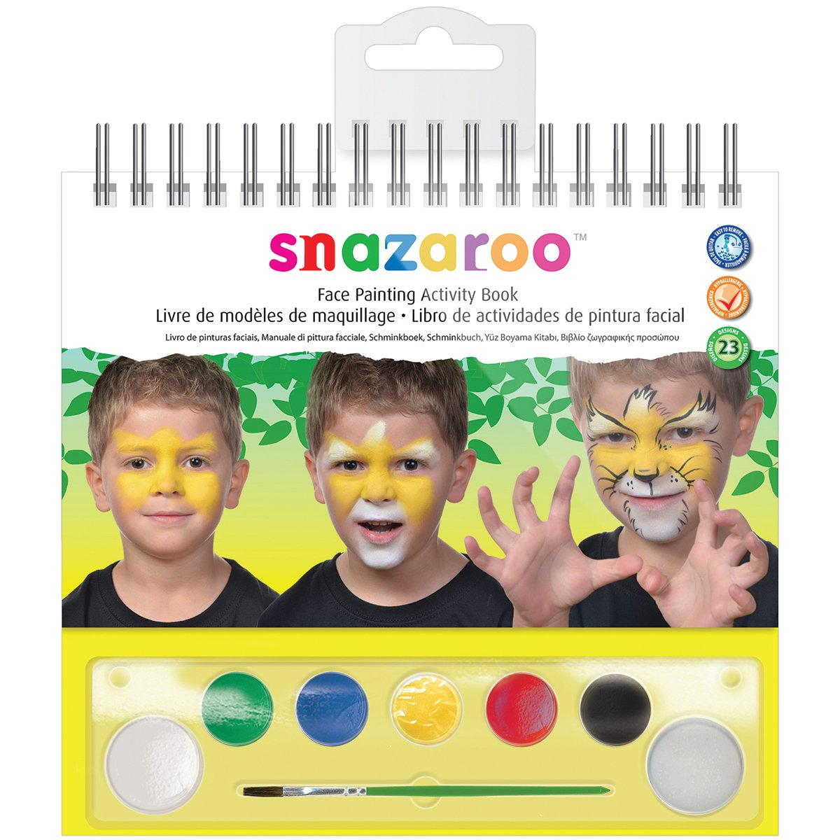 Amazoncom Snazaroo Face Painting Activity Book