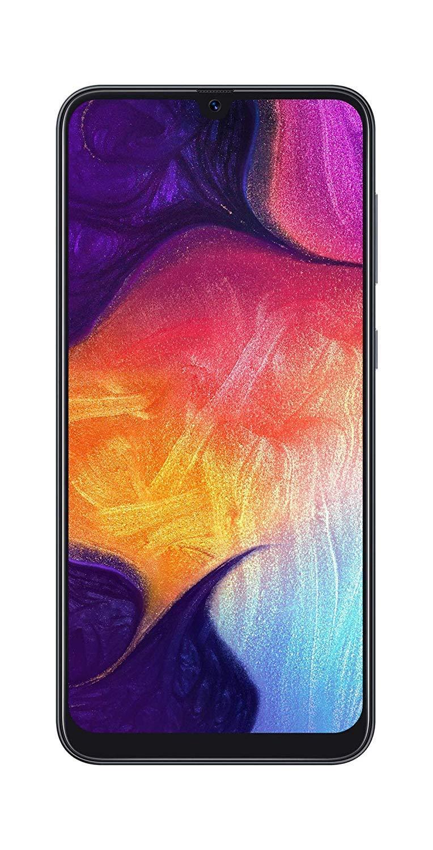 Samsung Galaxy A50 SM-A505G 64GB 4GB RAM 25 MP 6.4'' Factory Unlocked International Version- Black by Samsung