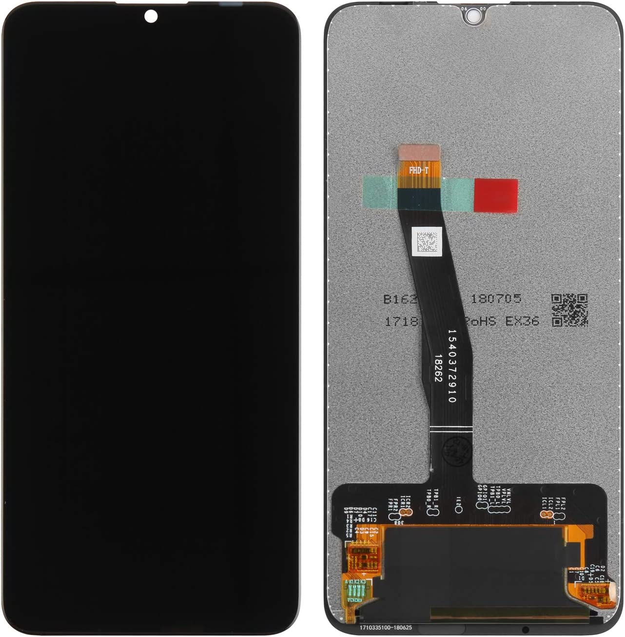 Display incl Tools MMOBIEL Front Glass Repair kit Compatible with Huawei P Smart 2019 Honor 10 Lite 2018 6.21 Inch Black