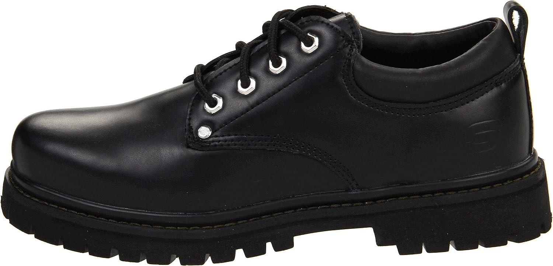 Skechers USA Alley Cat Utility Schuh, schwarz - - - Schwarz glatt - Größe  41 EU 32724a