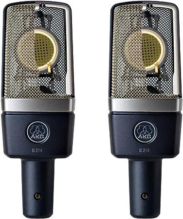 AKG C214 Stereo Pair Cardioid Condenser