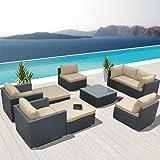 Modenzi V9-U Outdoor Sectional Patio Furniture