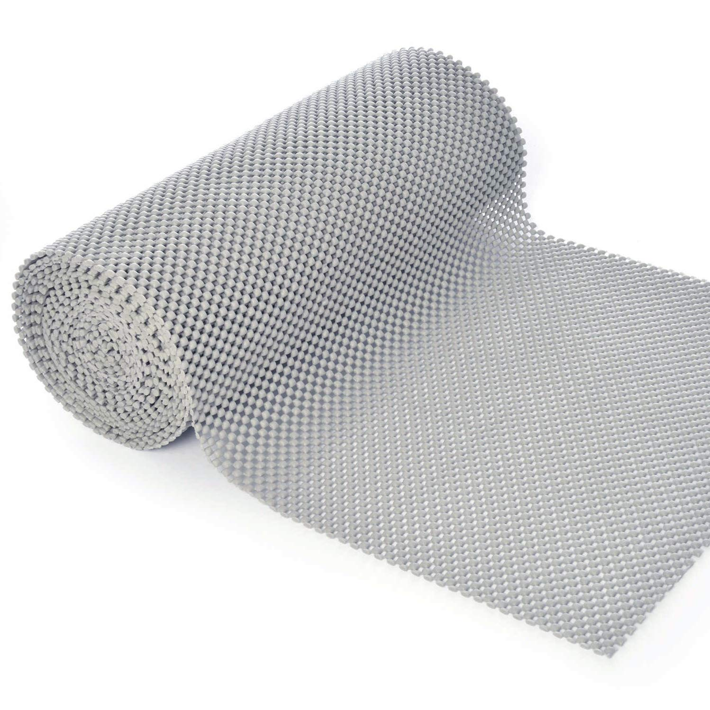 BNYD Drawer Liner Non Adhesive Kitchen Shelf Liner, Anti-Slip Mat Cabinet Grip Liner 12 inch x 240 inch