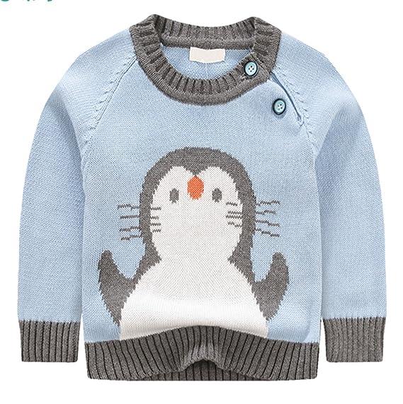KINDER365 Boys Ribbed Crewneck Sweatershirt Pullover