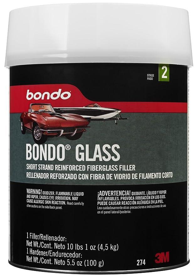 Bondo 272 White 2 lb  9 Ounce Glass Short Strand Reinforced Fiberglass  Filler