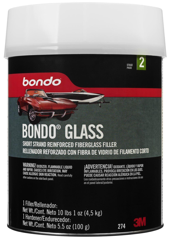 Bondo 274 Fiberglass Reinforced Filler - 1 Gallon, Pack of 1