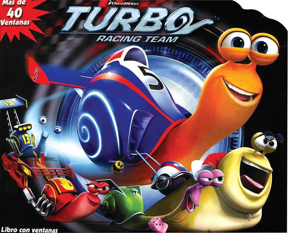 LIF THE FLAP: TURBO RACING TEAM (Spanish) Hardcover – 2013