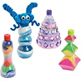 Funny Sand Art Bottles - Crafts for Kids and Fun Home Activities