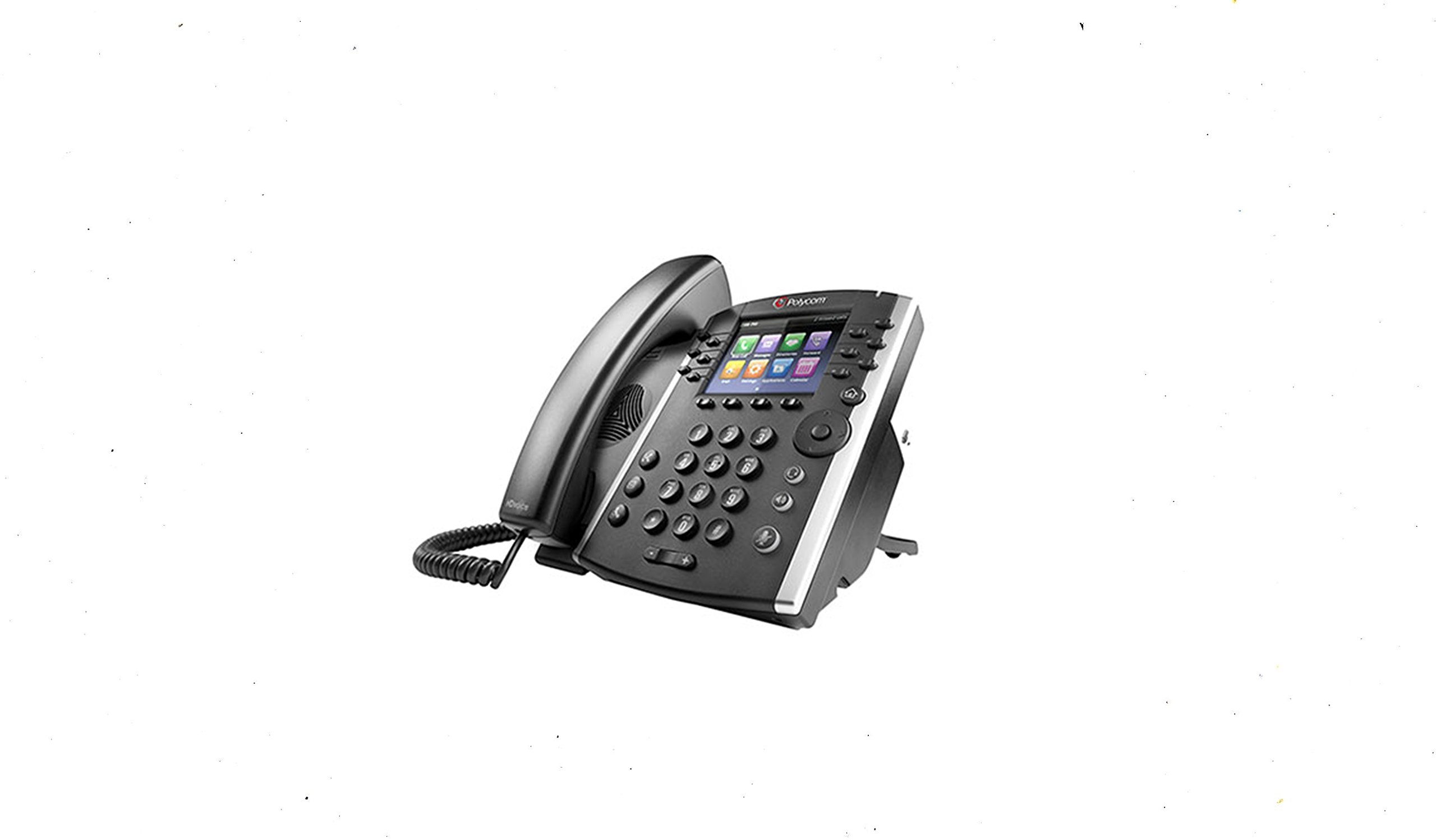VVX 400 IP Business PoE Telephone (Power supply not included) by Polycom (Image #2)
