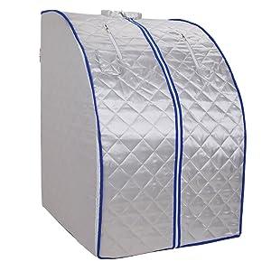 Ridgeyard Portable Safe Folding Far FIR Infrared Sauna Spa