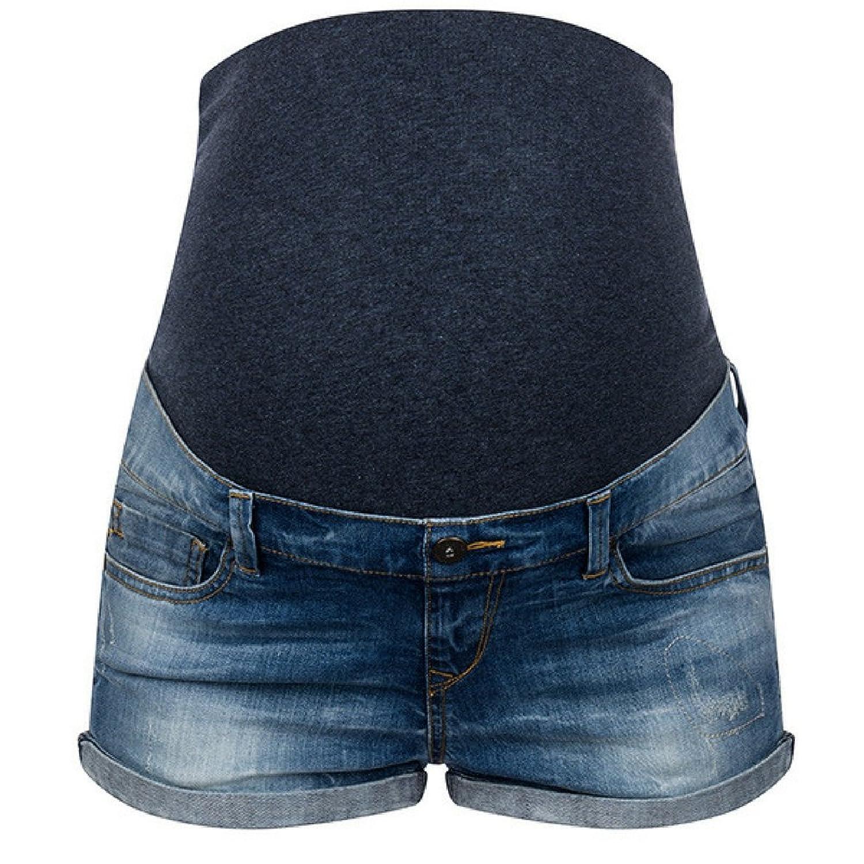 Umstandsshorts Jeans Umstandsjeansshorts für Schwangere von Love2Wait